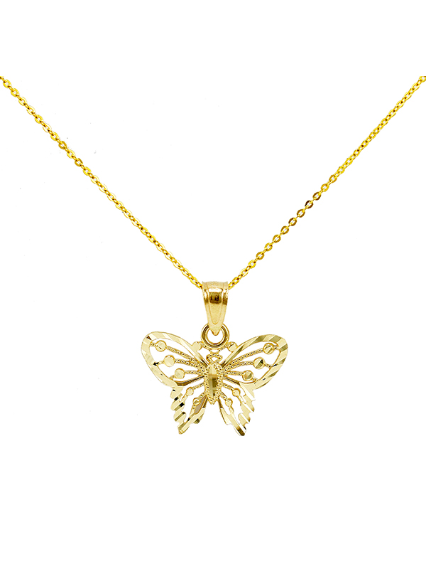 Butterfly New Gold Jewelry Charms Engagement Rings