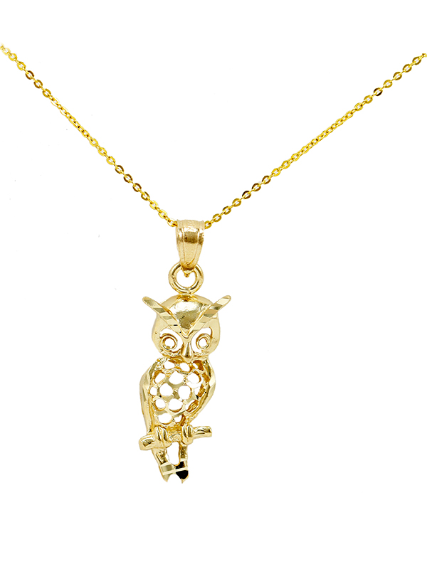 Owl - New Gold Jewelry | Charms | Engagement Rings