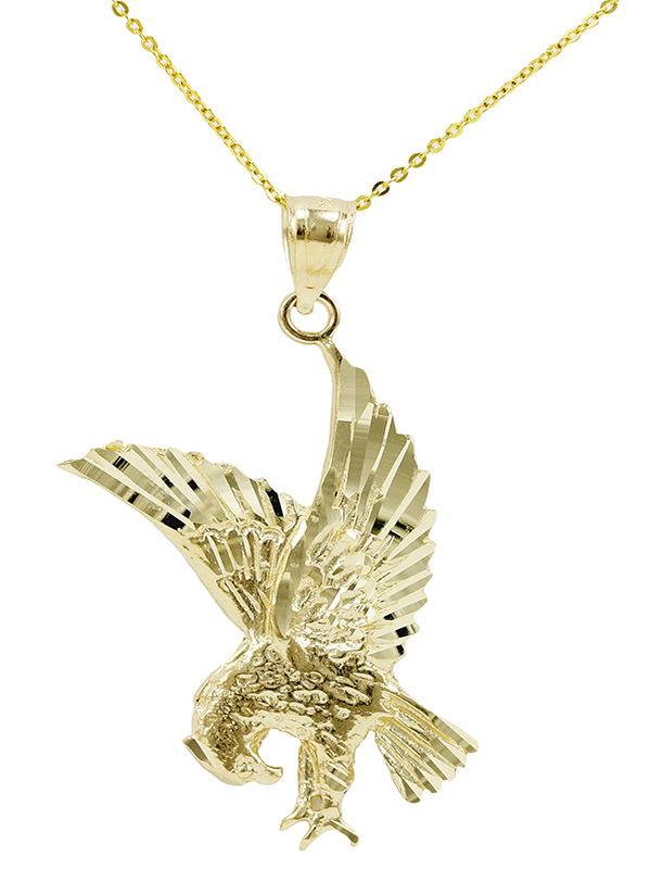 Eagle New Gold Jewelry Charms Engagement Rings